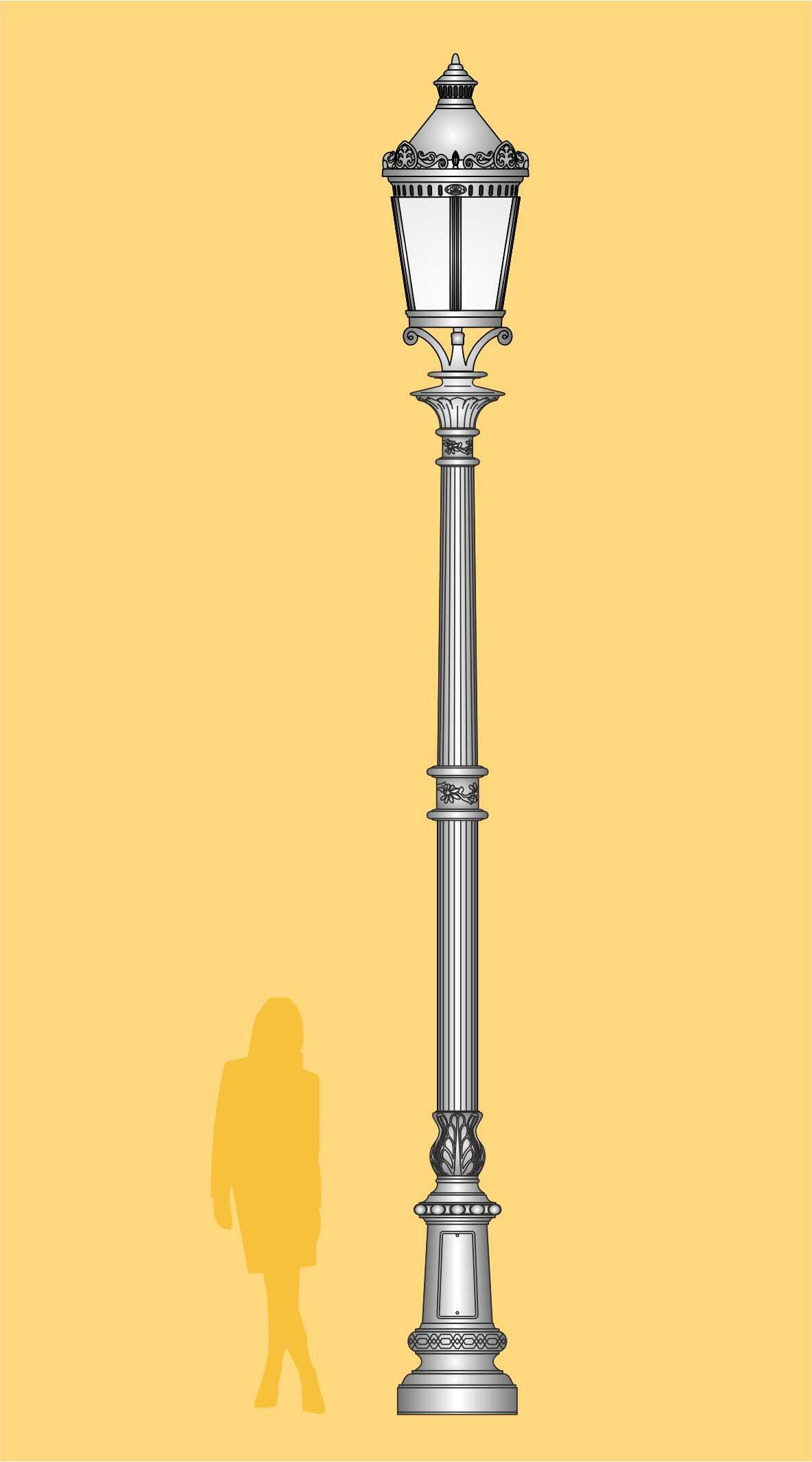 stylowa latarnia, ekskluzywna latarnia LED, latarnia ogrodowa