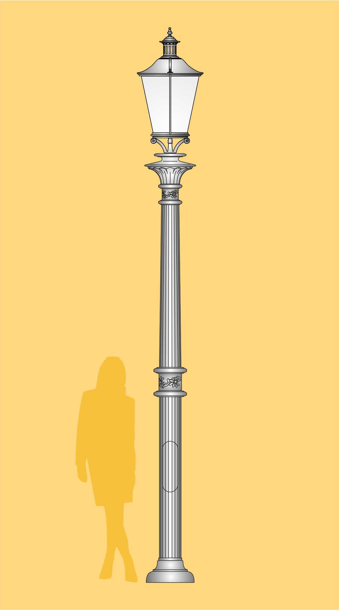 latarnia ogrodowa, oprawa LED, ekskluzywna latarnia, latarnia pałacowa, oświetlenie ogrodowe