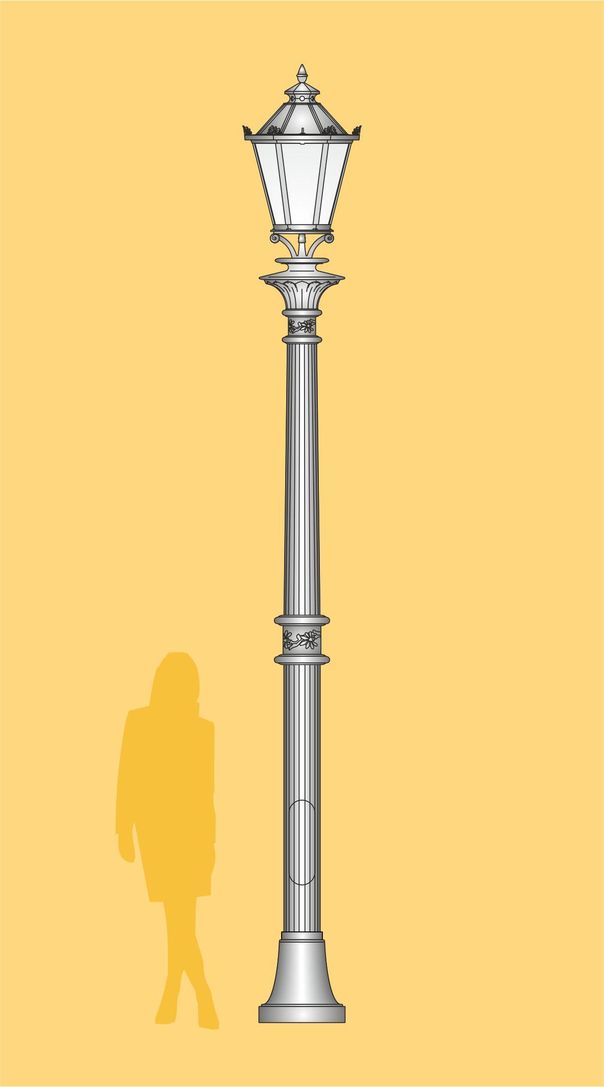 latarnia stylowa, ekskluzywna latarnia ogrodowa, latarnia palacowa, oprawa LED